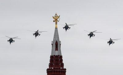 Денят на победата в Русия (Снимки)