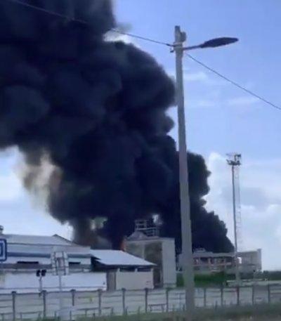 Експлозия в химически завод в Италия