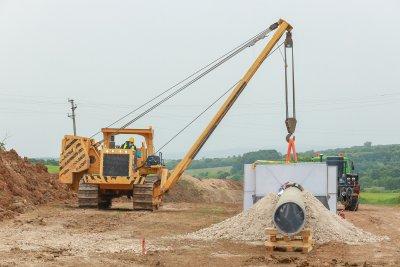 Над 70 км тръби за газовата връзка с Гърция са доставени