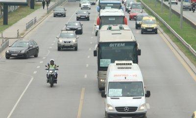 Собствениците на фирми за случаен превоз излязоха на протест в 5 български града