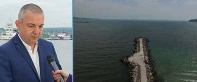 До месец и половина ще приключи ремонтът на спуканата тръба във Варненското езеро