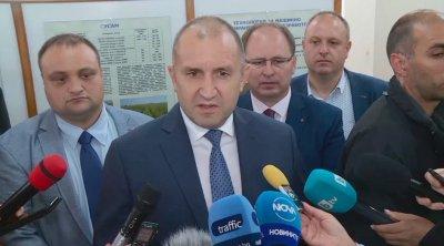 Румен Радев: Държавата не се справя в борбата с картелите на горивата