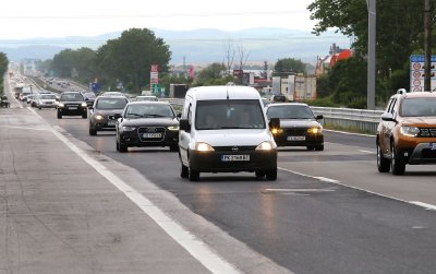 Трафик към София: КАТ очаква 56 хил. коли да се приберат