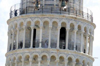 Наклонената кула в Пиза отново приема посетители