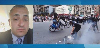 Ексклузивно за БНТ: Български полицай в Чикаго за сблъсъците в САЩ