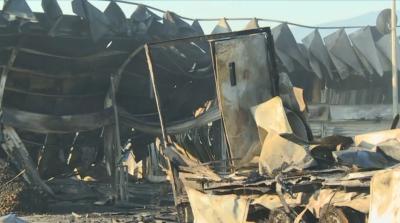 Щети за стотици хиляди левове след пожара в Кърналово