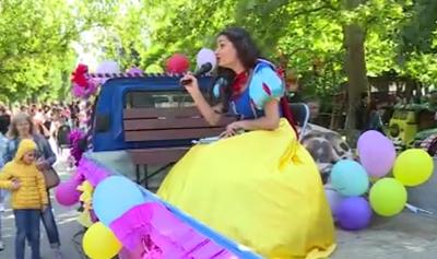 Русенски актьори поздравиха децата за 1 юни