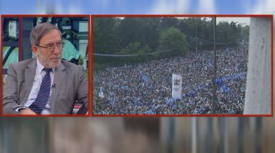 30 години от най-масовия митинг в България - Филип Димитров пред БНТ