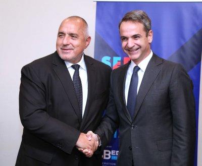 Борисов към Мицотакис: Искаме единни Балкани и модерна инфраструктура
