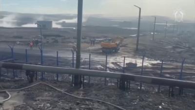 Разлив на дизелово гориво причини екологично бедствие в Сибир