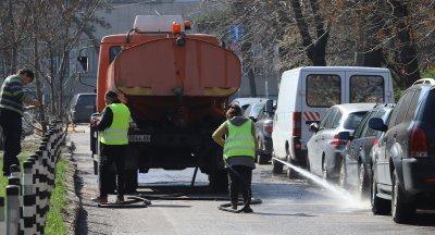 Мият улици, платена зона няма да има, софиянци трябва да преместят колите си