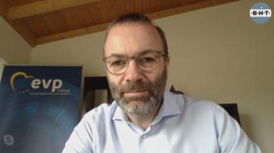 Манфред Вебер пред БНТ: Планът за европейската икономика ще даде стимул за възстановяване