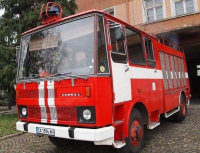 Пожар в жилищен блок в Русе