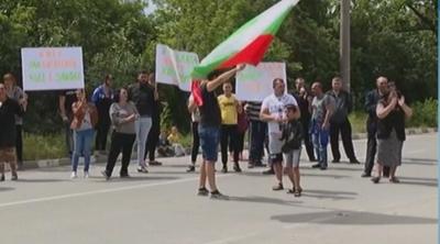 Протест затвори пътя Айтос-Тервел