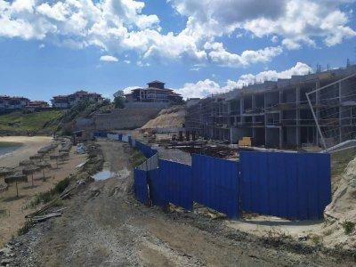 Собственикът на имота в Алепу: Към момента е построено единствено укрепително съоръжение