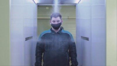 При Путин се влиза през коридор за дезинфекция
