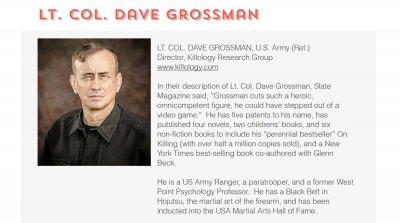 Дейвид Гросман – човекът, който учи американските полицаи да убиват