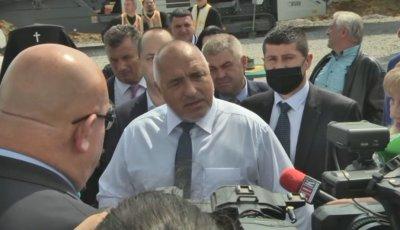 Борисов коментира телефонния запис, за който се твърди, че е негов