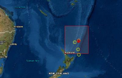 Трус с магнитуд 7,3 край бреговете на Нова Зеландия