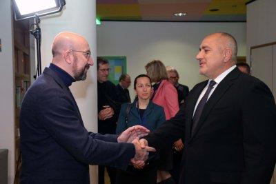 """В телефонен разговор с Шарл Мишел: Борисов подчерта, че приемането на пакет """"Мобилност"""" е грешка"""