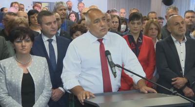 Борисов: Целта на компроматите е да се стигне до предсрочни избори и служебен кабинет (ОБОБЩЕНИЕ)