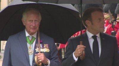Макрон посети Лондон заради Шарл де Гол