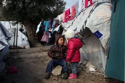 България е заявила желание да приеме деца мигранти от гръцките острови