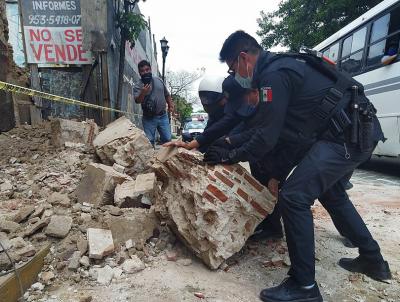 7,5 по Рихтер в Мексико, няма данни за пострадали българи
