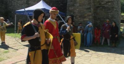 """Започна средновековният фестивал """"Корона и меч"""" на крепостта """"Царевец"""""""