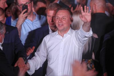 Досегашният президент на Полша отива на балотаж