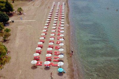 Туристите в Гърция са малко - главно от България и Сърбия