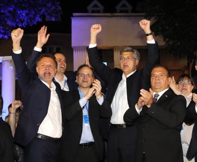 Хърватска демократична общност печели парламентарните избори в Хърватия