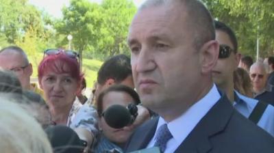 Румен Радев: На ход е прокуратурата. При мен няма никакви злоупотреби