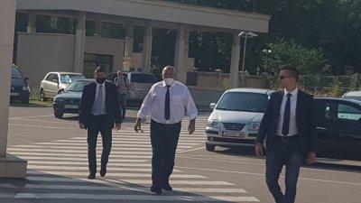 Премиерът Борисов пристигна на разпит в спецпрокуратурата (Снимки)