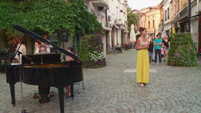 В отговор на чалга парти: Капана прие класически концерт на открито
