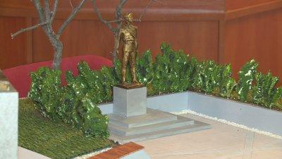 Дъждовете и епидемията са забавили строителството на паметника на Васил Левски в Русе