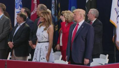 Доналд Тръмп с реч пред 7500 души за националния празник на САЩ - 4 юли