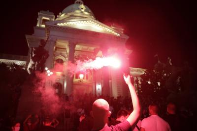 Без ескалация на напрежението при протестите в Сърбия