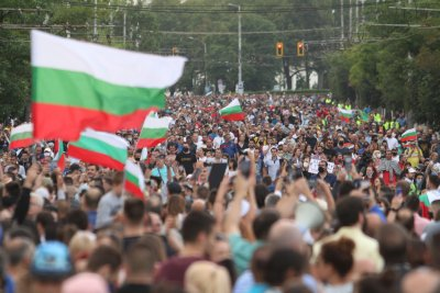 Четвърти ден на протест в София