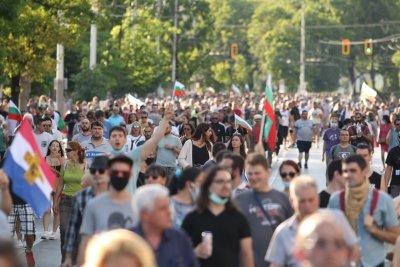 Трети ден протести в София