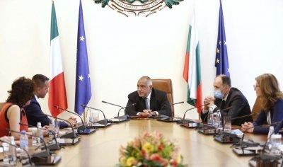 Луиджи ди Майо подчерта твърдата подкрепа на Италия за приемането на България в Шенген
