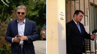 Пламен Узунов и Пламен Бобоков са задържани за 24 часа