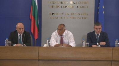 НА ЖИВО: Борисов, Горанов и управителят на БНБ за приемането на България в чакалнята на еврозоната