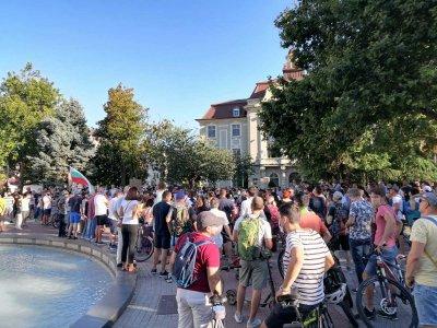 Протести имаше и във Варна и Пловдив