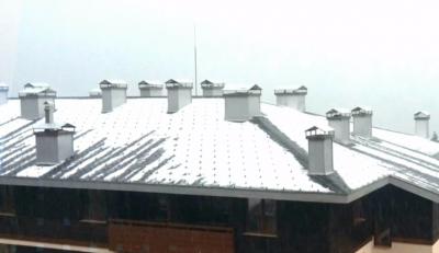 Силна буря с градушка в Пампорово