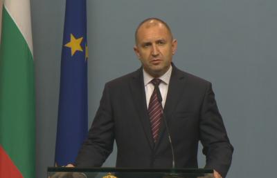 Румен Радев: Пеевски и Доган не трябва да се охраняват от НСО, това обаче зависи от Борисов
