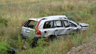 """Две катастрофи на """"Струма"""" край Дупница, няма данни за пострадали"""