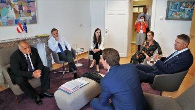 """Бойко Борисов обсъди с """"пестеливата четворка"""" приемлив за всички изход за разпределението на парите от ЕС"""