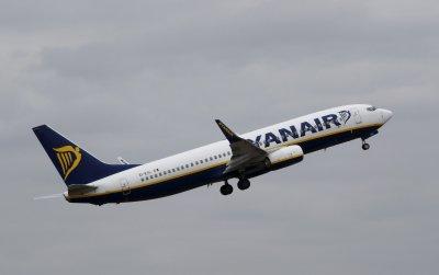 "След бележка за бомба – аварийно кацане на самолет на ""Ryanair"""