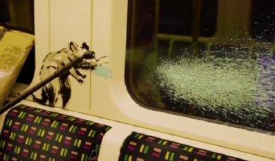 Рисунката на Банкси от Лондонското метро – забърсана